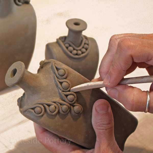 Small ceramics pinterest art studios for Clay pottery ideas