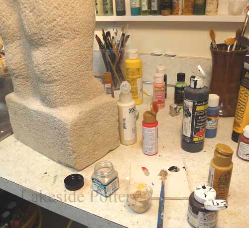 How to Repair Broken Stone Sculpture   Repair Services