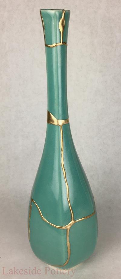 Kintsugi Pottery For Sale Buy Kintsukuroi Art Gold Repair