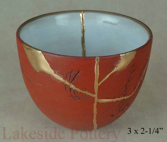 antique chinee kintsugi cup
