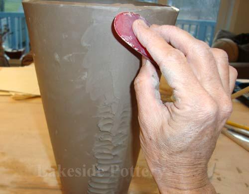 How To Make A Clay Slab Tall Vase Handbuilt Lesson
