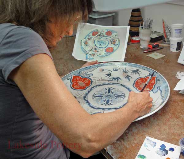Painting broken china pottery or ceramic tutorial & How or Where to Fix Broken Pottery or China | DIY Lesson