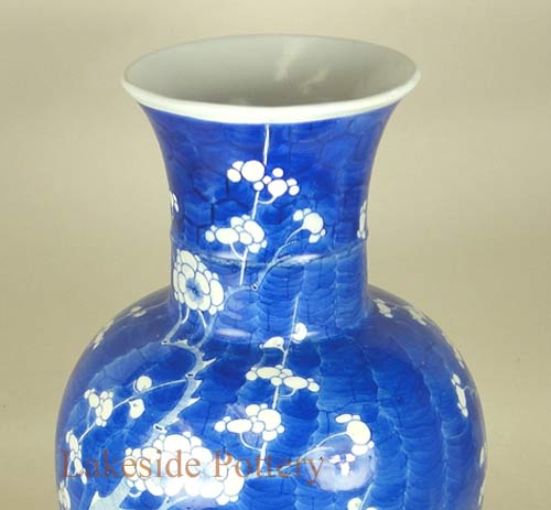 Restored antique painted vase