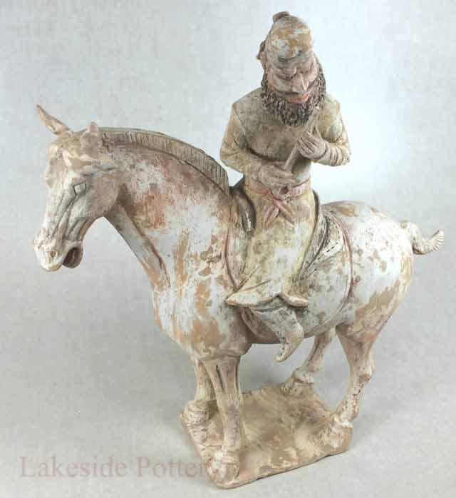 Tang Dynasty Chinese Terra Cotta horse statue
