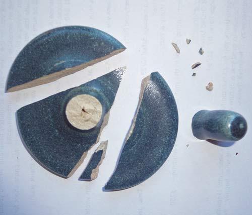 Broken Urn Lid
