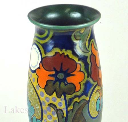 Gouda holland pottery Vase early 20 century dutch vase