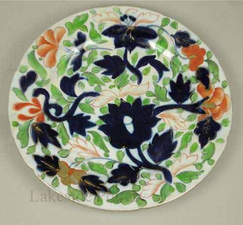 restored Imari Japanese Antique plate