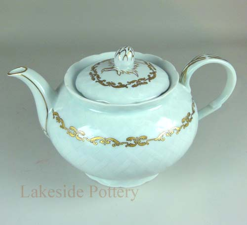 Limoge teapot restored - broken handle