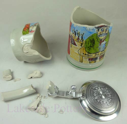 broken german stein