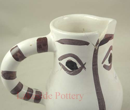 broken picasso pitcher