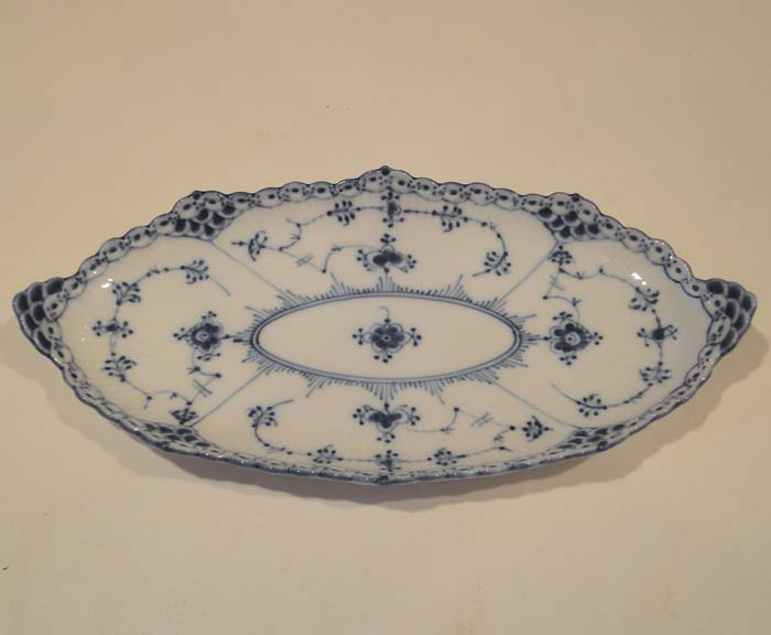 royal-copenhagen platter repaired and restored