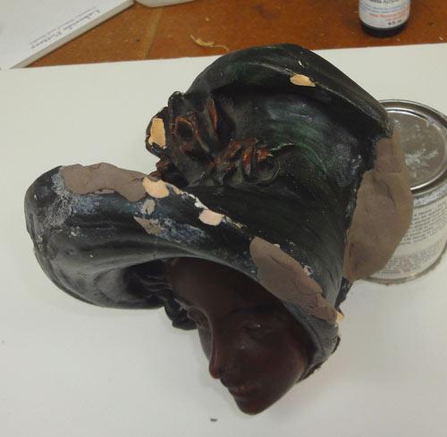 Fixing Broken Sculpture Bust Repair